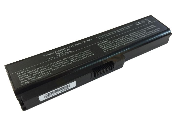 Batteria POTENZIATA 5200mAh 10,8V per portatile Toshiba Satellite Pro L670 L670-14M L670-14L L670-15T L670-16Z L670-170 L670-EZ1710 L670-171 L670-11D L670-14P L670-13L
