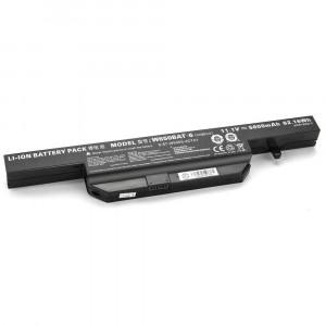 Batterie 5200mAh W650BAT-6 pour Clevo W670RZ W670RZQ W670RZQ1 W670RZW W670RZW1