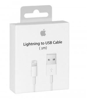 Original Apple Lightning USB Cable 1m A1480 MD818ZM/A for iPhone 7 Plus A1785