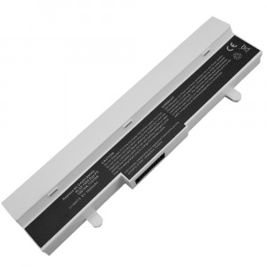Batterie 5200mAh BLANCHE pour ASUS Eee PC 1005PX-RED035S 1005PX-W041S