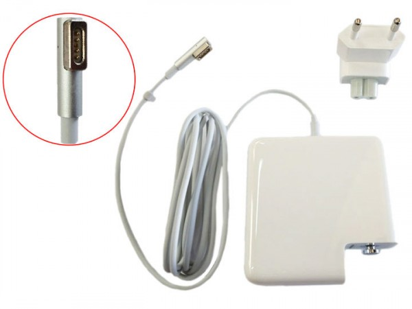 Power Adapter Charger A1222 A1343 85w Magsafe 1 For Macbook Pro 15 A1260