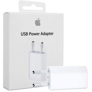 Alimentatore USB 5W Apple Originale A1400 MD813ZM/A per iPhone 7 Plus A1786