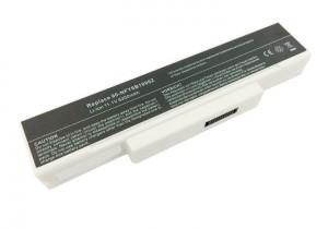 Batterie 5200mAh BLANCHE pour MSI GX600 GX600 MS-163A