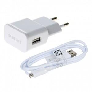 Caricabatteria Originale 5V 2A + cavo per Samsung Galaxy S4 Zoom SM-C101