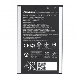 ORIGINAL BATTERY C11P1501 3000mAh FOR ASUS ZENFONE 2 LASER ZE551KL Z00TD