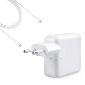 "Alimentatore Caricabatteria USB-C A1719 87W compatibile Apple Macbook Pro 15"""