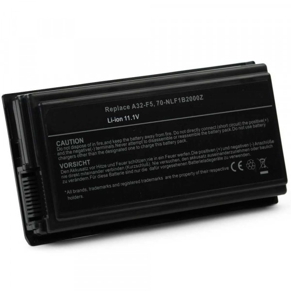 Batería 5200mAh para ASUS F5 F5C F5GL F5GX F5M F5N F5Q F5R F5RI F5RL5200mAh