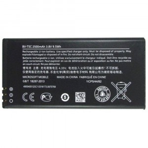 ORIGINAL BATTERY BV-T5C 2500mAh FOR NOKIA MICROSOFT LUMIA 640 LTE