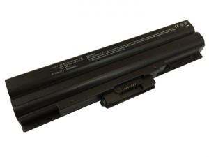 Battery 5200mAh BLACK for SONY VAIO VGN-CS32GH-B VGN-CS32SH-B