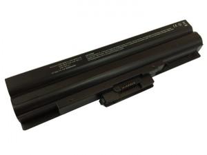 Batteria 5200mAh NERA per SONY VAIO VGN-CS16T-T VGN-CS16T-W VGN-CS16Z