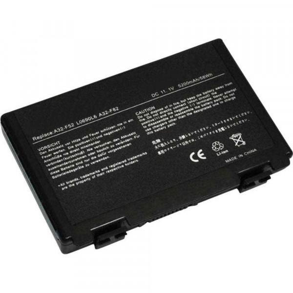Batería 5200mAh para ASUS K61IC-JX075X K61IC-JX080X K61IC-JX096X K61IC-JX120V5200mAh