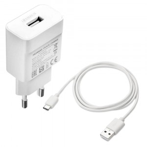 Chargeur Original HW-059200EHQ + Cable Type C pour smartphone Huawei