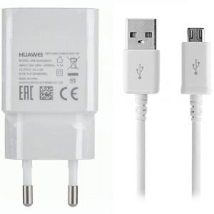 Caricabatteria Originale 5V 2A + cavo Micro USB per Huawei Ascend G700