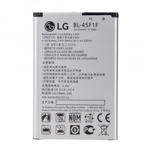 Batería Original BL-45F1F 2410mAh para LG K4 2017 K8 2017