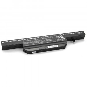 Battery 5200mAh W650BAT-6 for Hasee K570N K590C K610C K650D K710C K750D