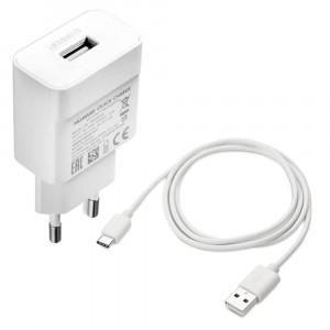 Caricabatteria Originale Quick Charge + cavo Type C per Huawei P20 Lite