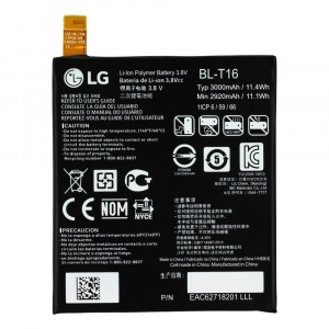 ORIGINAL BATTERY BL-T16 3000mAh FOR LG G FLEX 2 G FLEX2 F510 F510K F510L F510S