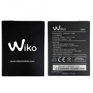 Original Battery 5251 2500mAh for Wiko Pulp 4G
