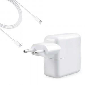 """Alimentatore Caricabatteria USB-C A1718 61W per Macbook Pro 13"""" A1989"""