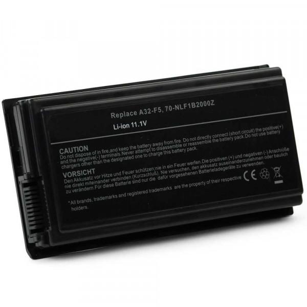 Batterie 6 cellules A32-F5 5200mAh compatible Asus5200mAh