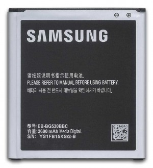 ORIGINAL BATTERY 2600mAh FOR SAMSUNG GALAXY J5 2015 EB-BG531BBE EB-BG531BBU